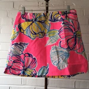 Lilly Pulitzer Swept By The Tides Skort Size 4 NWT